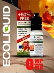 Жидкость для электронных сигарет EcoLiquid Кленовый сироп, 15 мл, без никотина