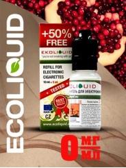 Жидкость для электронных сигарет EcoLiquid Клюква, 15 мл, без никотина