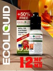 Жидкость для электронных сигарет EcoLiquid Кленовый сироп, 15 мл, никотин 12 мг/мл